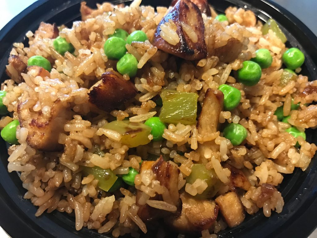 BBQ Chicken Fried Rice